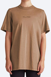 C&M Turner Longline Tee - Rust | Shop C&M Camilla and Marc at IKON NZ
