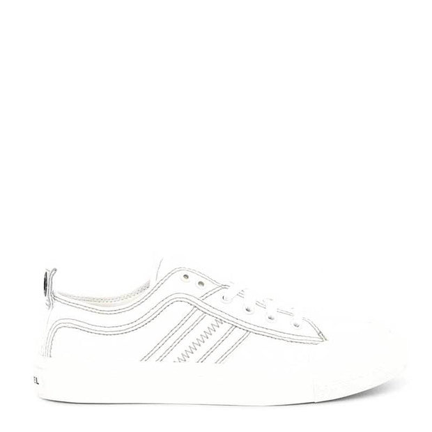 Mens S-Astico Low Lace Star White | Shop Diesel at IKON