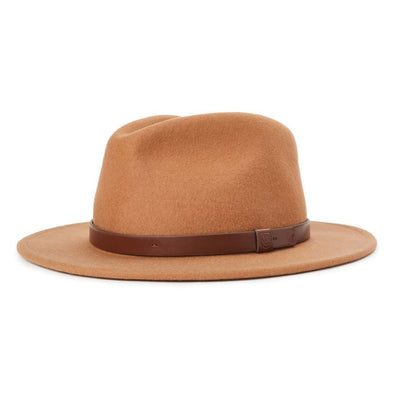 Brixton Messer Fedora - Desert shop online or in store at IKON