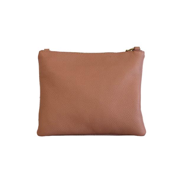 Mickey Clutch - Pink Hide