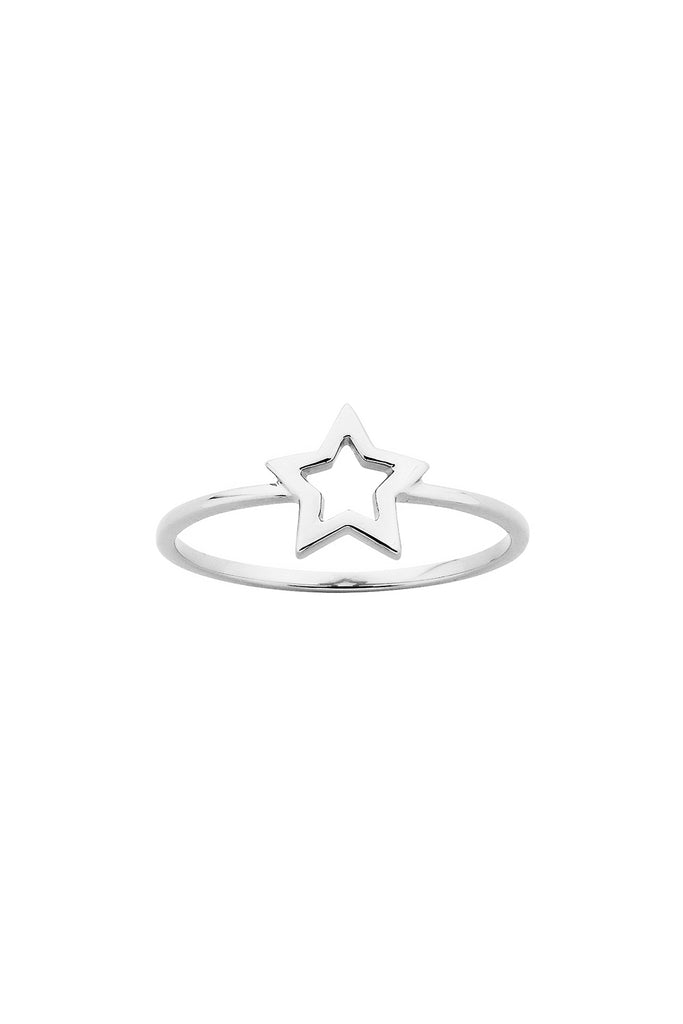 Mini Star Ring - Silver