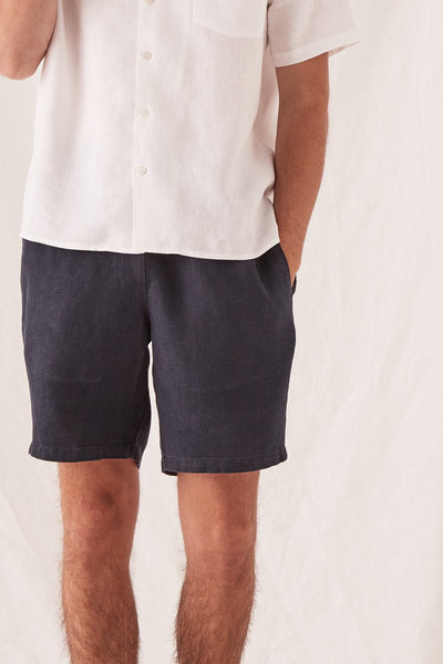 Mens Transition Short - Navy | Shop Assembly Label at IKON