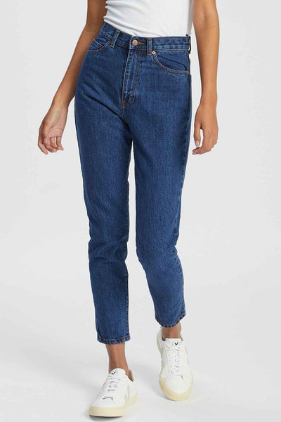 Nora Jean Mid Retro | Shop Dr Denim Jeans at IKON Arrowtown NZ