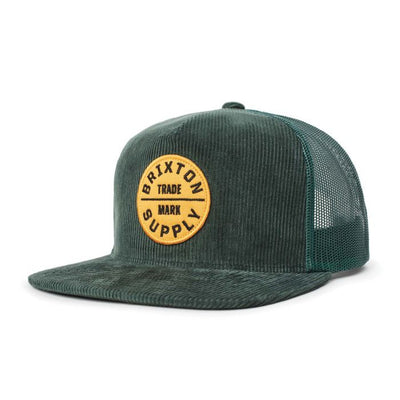 Copy of Brixton Oath III Cap - Emerald shop online or in store at IKON
