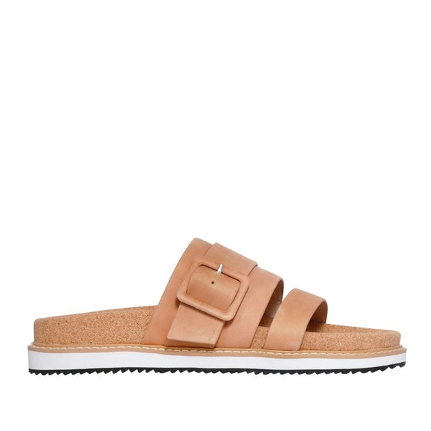 Ollie Slide Mocca Leather shop online or in store at IKON