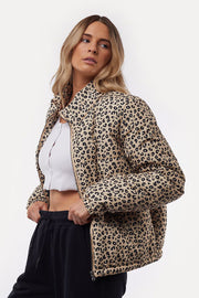 Leopard Puffer Jacket | Shop All About Eve at IKON NZ