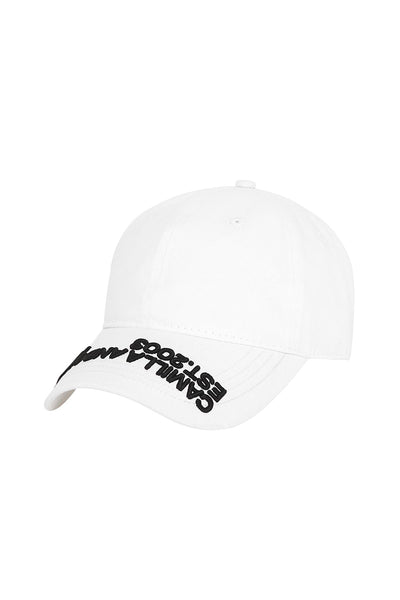 Colorado Cap - White W/Black | Shop Camilla and Marc at IKON Arrowtown NZ