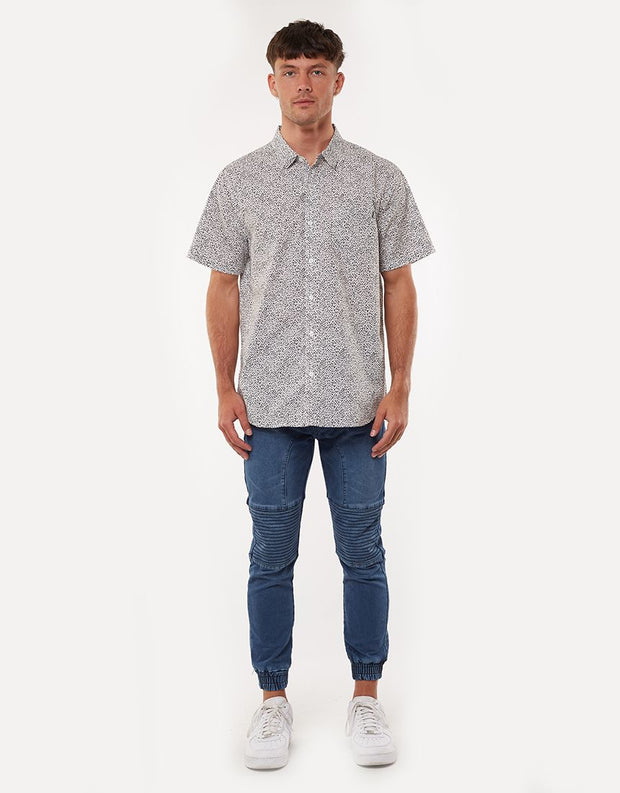 Slick Rick SS Shirt - White