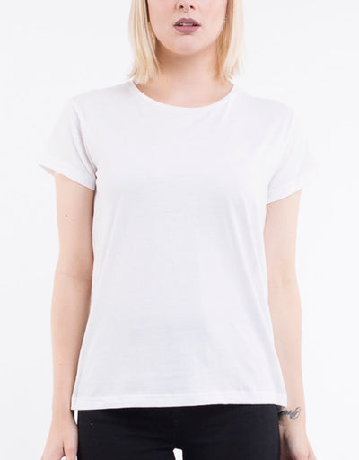 Polly Tee - White | Shop Silent Theory at IKON Arrowtown NZ