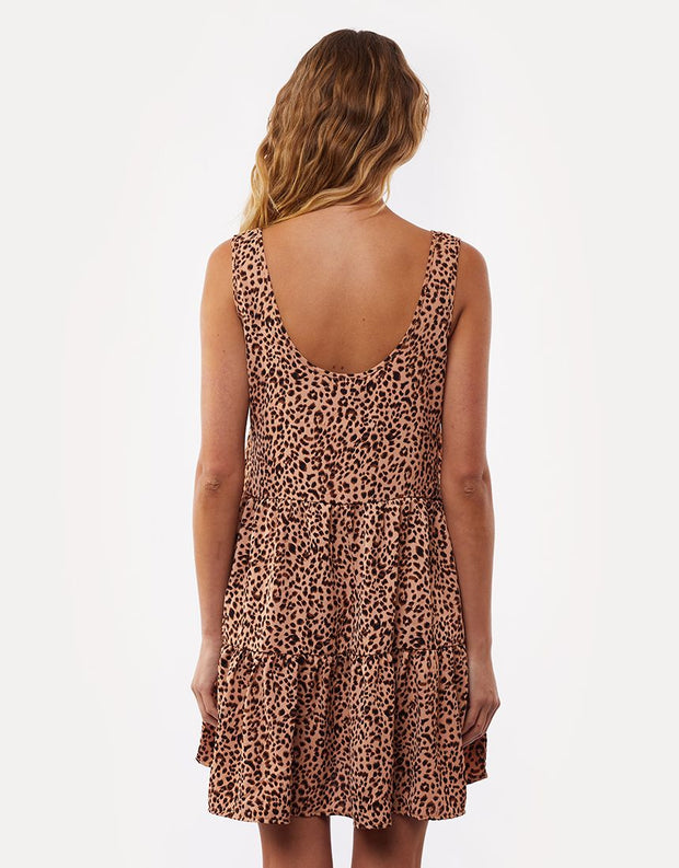 Blushing Mini Dress - Print | Shop All About Eve at IKON NZ
