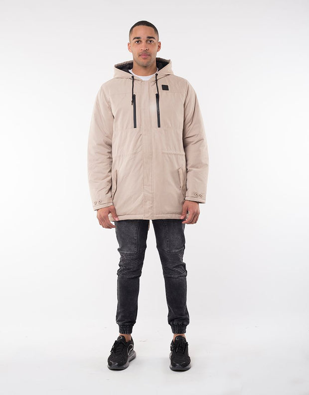Regiment Hooded Jacket - Bone