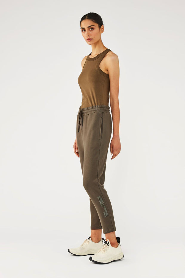 C&M Lucas Track Pant - Khaki | Shop C&M Camilla and Marc at IKON NZ
