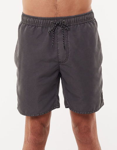Illusion Short - Washed Black | Shop St Goliath Clothing at ikonnz.com NZ
