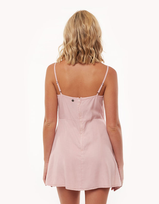 Sophia Washed Dress - Musk