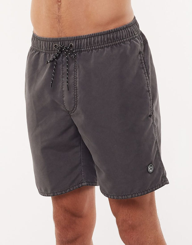 Illusion Short - Washed Black