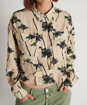 Samoa Islands Shirt Palm Print | Shop OneTeaspoon at IKON NZ