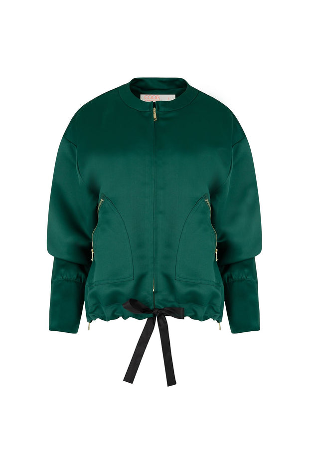 Coop Zip It Jacket - Green