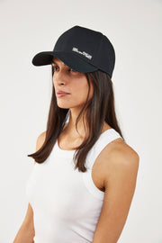 Denver Cap - Black W/White | Shop Camilla and Marc at IKON Arrowtown NZ