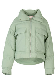 Cooper Diamond In The Puff Jacket - Pistachio