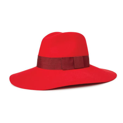 Brixton Piper Hat - Red/Burgundy