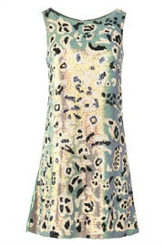 Cooper What's New Kitty Cat Dress - Green Leopard
