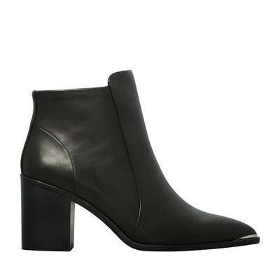 Ramira Boot Black Leather | Shop Nude Footwear at IKON Arrowtown NZ
