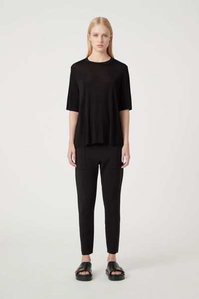 C&M Eliza Long Tee Black | shop C&M at IKON, Arrowtown, NZ