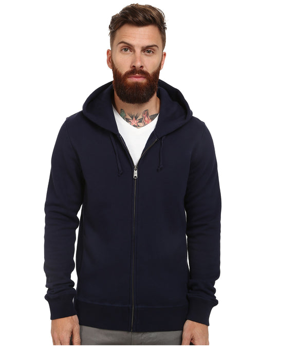 Men's Home Alone Zip Thru Hoodies - Navy