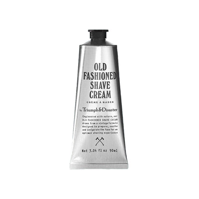 Old Fashioned Shave Cream | Triumph & Disaster skincare at ikonnz.com