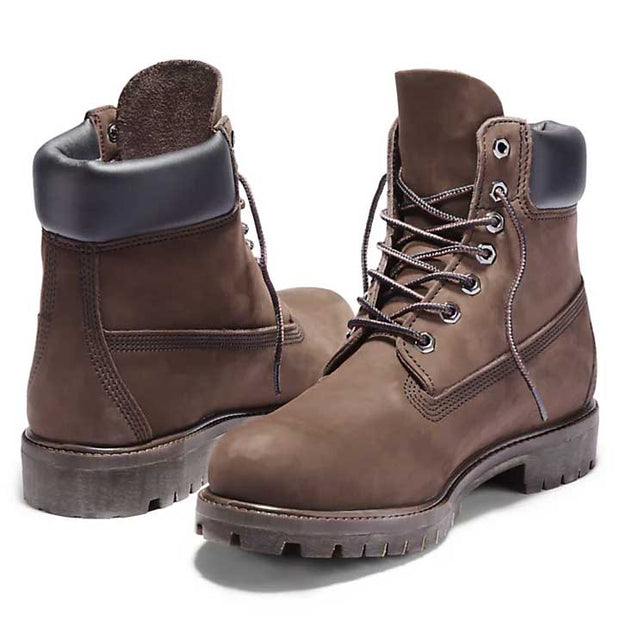 "Mens Icon 6"" Waterproof Boot - Medium Brown Nubuck"