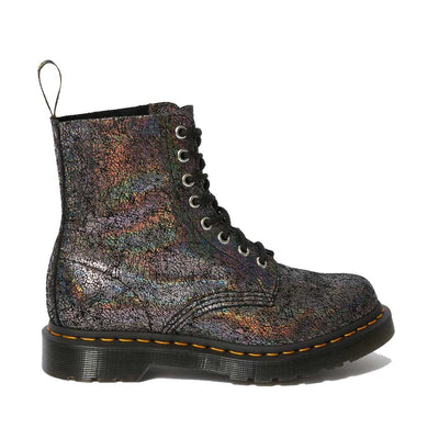 Doc Martens 1460 Pascal 8 Eye Boot -Gunmetal Iridescent | Shop at IKON