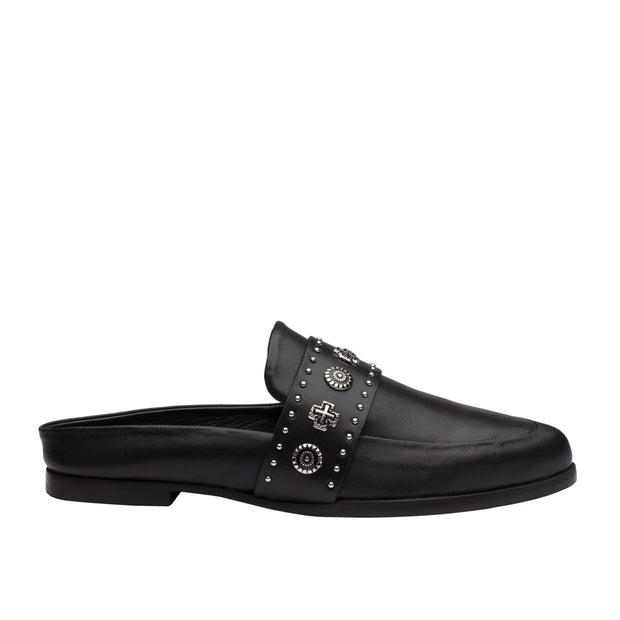 Tuesday Slide - Black Western Stud | Shop Sol Sana at IKON NZ