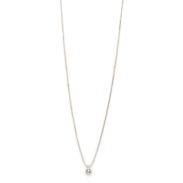 Lucia Pi Necklace - Single/Silver Plated | Shop Pilgrim Jewellery, IKO…