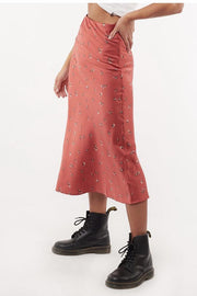 Jorge Sage Midi Skirt - Pink | Shop Jorge at IKON Arrowtown in NZ