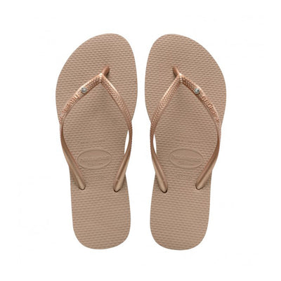 Womens Slim SW Crystal - Rose Gold | shop Havaianas at IKON in Arrowtown, NZ