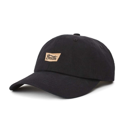 Brixton Stith LP Cap - Black shop online or in store at IKON