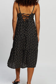 Summer Ditsy Midi Dress - Print