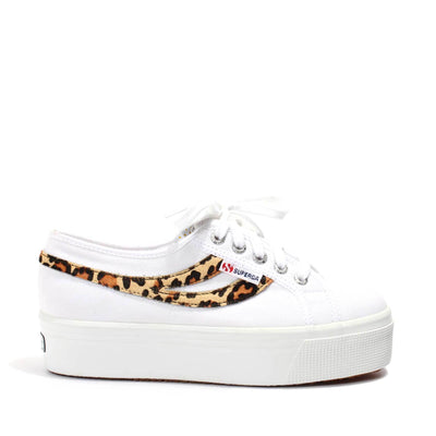 Superga 2892 Cotw Ponyhair White-Cheetah | Shop Superga at IKON