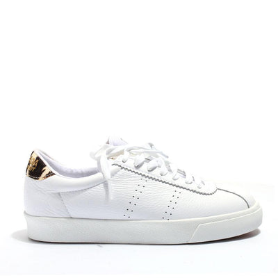 Superga 2843 Comflealeopardu - White/Birch