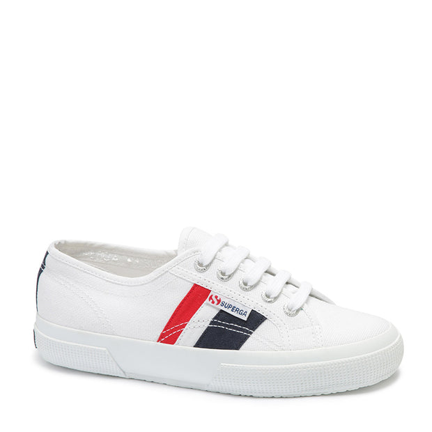 Superga 2750 Cotuflagside - White/Blue/Red | Shop Superga at IKON in Arrowtown, NZ