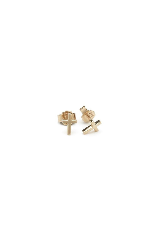 Tiny Stolen Cross Earring | Shop Stolen Girlfriend Jewellery at IKON NZ