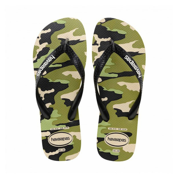 Mens Top Camo - Black/Green Olive | Shop Havaianas at IKON in Arrowtown, NZ