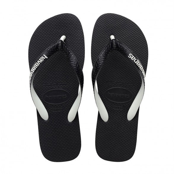 Top Mix - Black/White | Shop Havaianas online at Ikon Arrowtown