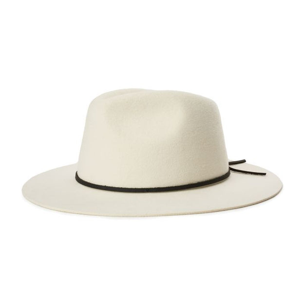 Brixton Wesley Fedora - Dove | Shop Brixton at IKON in Arrowtown NZ