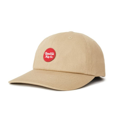 Brixton Wheeler Cap Khaki/Red
