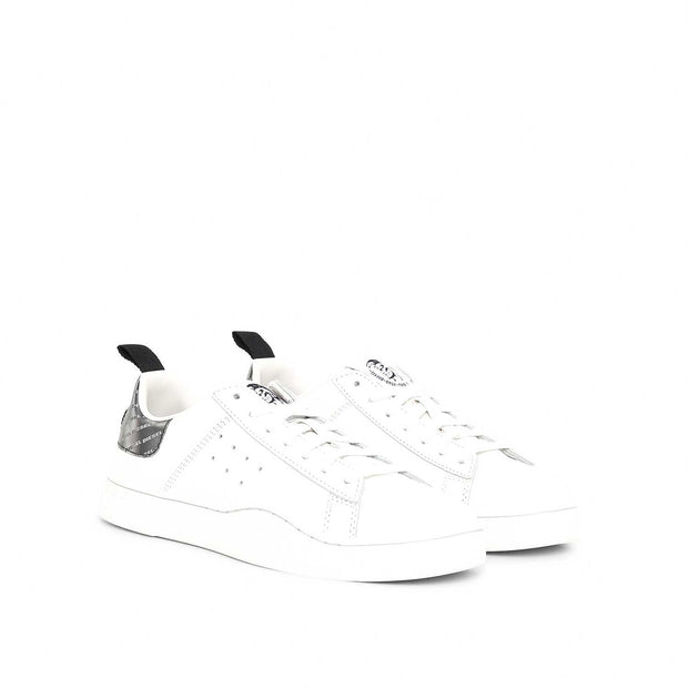 Womens S-Clever Low -  White/Silver H7269