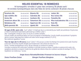 Home Kit Combo: Helios Essential 18 Remedies & Remedy Booklet