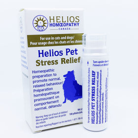 *2 for 1* Helios PET Stress Relief for Cats and Dogs - Lactose Free Homeopathic Remedy