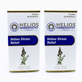 *2 for 1* Helios Stress Relief - Lactose Free Homeopathic Remedy for Mild Stress
