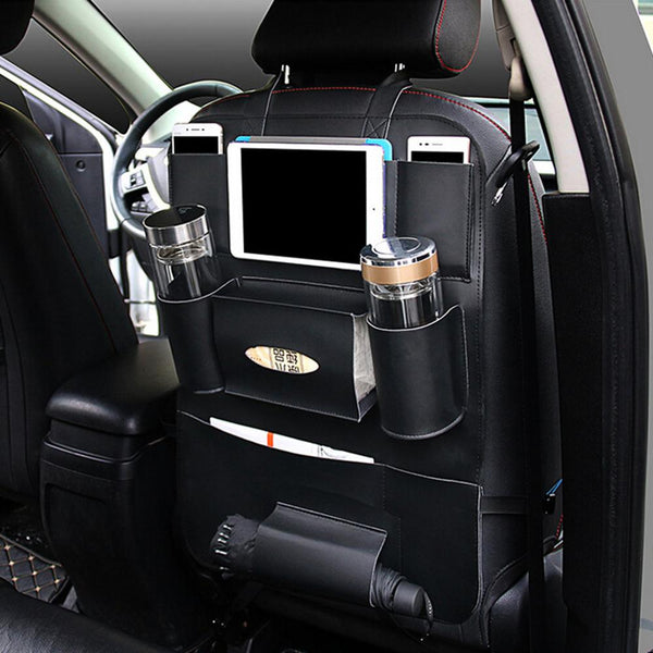 Car Seat Back Storage and Organizer